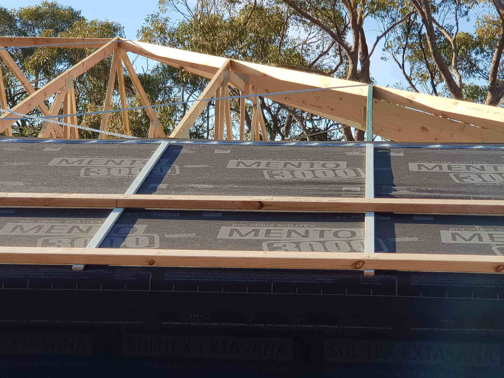 Mento Roof Wrap - Enduro Builders Project